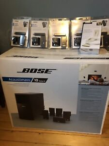 Bose Acoustimass 10 Series IV New in Box Surround Sound