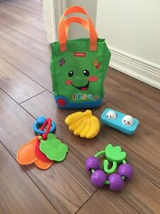 Sac jouet d'epicerie fisher price (interactive)