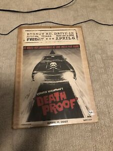 Quentin Tarantino's Death Proof poster