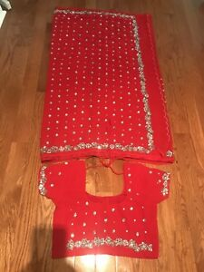 FURTHER REDUCED-Heavy Embroidered Saree (New)