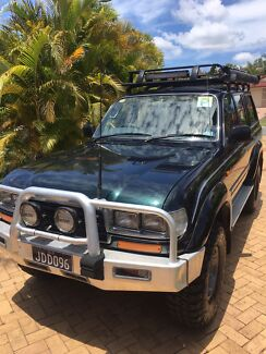 Automatic 1996 80 Series Landcruiser Narangba Caboolture Area Preview
