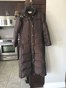 Michael Kors full length winter coat, ladies small