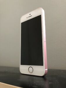 GREAT CONDITION Rose Gold iPhone SE
