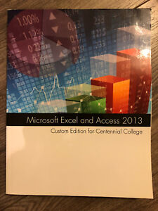 Microsoft excel and access 2013 centennial college