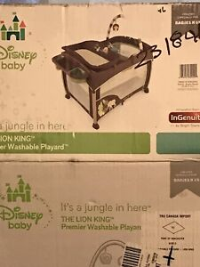 Disney Baby THE LION KING Premier Washable Playard
