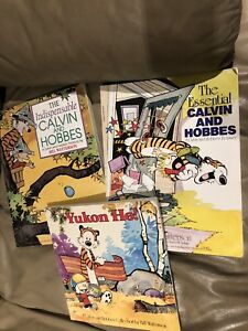 Calvin and Hobbes   3 books