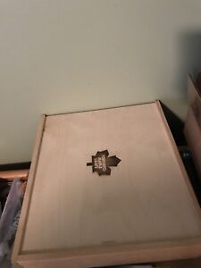 Toronto Maple Leafs Wooden Box Storage