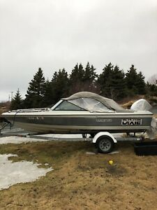 Boat, motor and trailer - MUST GO