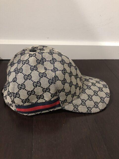 81068b3a72d Gucci  Original GG canvas baseball hat with Web