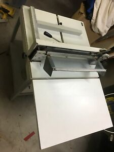 Guillotine, manual with stand