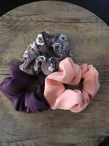 Handmade Hair Scrunchies