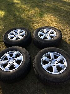 Winter rims and tires for F150