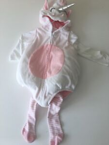 Unicorn Halloween costume 6-9 months