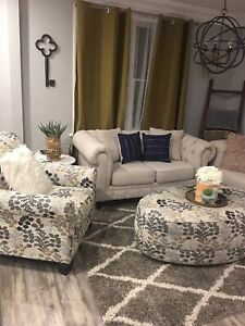 Beautiful couch set need gone lowered by 450.00