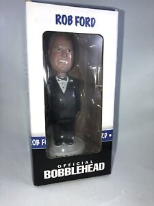 """""""Hollywood edition"""" Rob Ford official bobblehead - new in box"""