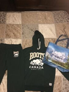 Roots tracksuit (mens small)