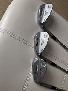Left hand Cleveland wedges (52/56/60 degree) $50 each $135 X 3