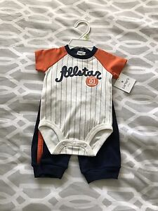 Brand new boys Carters outfit - 3 months
