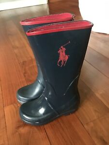 Polo Ralph Lauren rubber boots