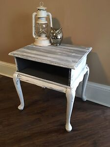 Refinished Dry Brushed Table