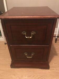 2 storey night dresser.