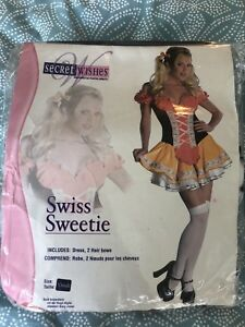 NEW Halloween Costume Bar Maid Beer Girl Oktoberfest Women's XS