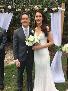 Karen Willis Holmes Ellery size 6 wedding dress Everton Hills Brisbane North West Preview