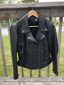 Small Women's Motorcycle leather jacket