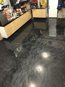 Epoxy your garage floor, office area, or other area!!