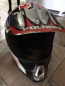 Used Polaris helmet