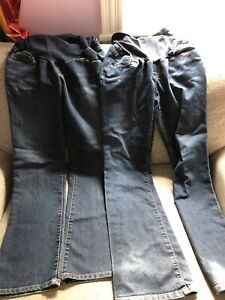 Two Size small maternity jeans