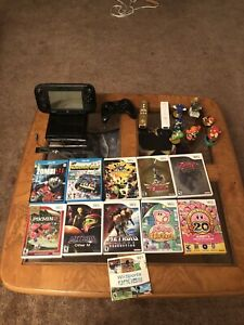 Wii U with Games and accessories $250