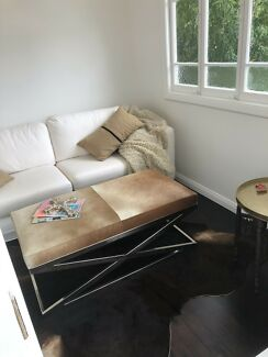 Cowhide Coffee Table / Ottoman