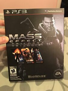 Mass effect trilogy (1,2 and 3)