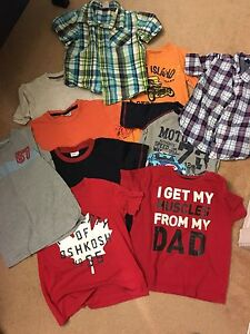 Boys size 4/5 shirt lot