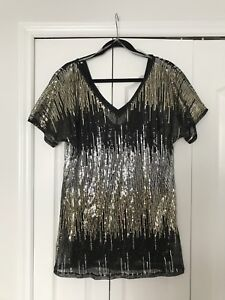 Guess by Marciano Sequin Top