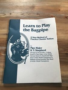 Bag pipe tuition book