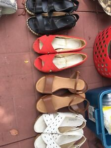 4 shoes for $10. Size 7.5