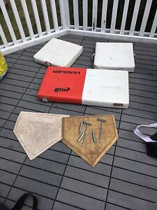 Slo Pitch Bases and Home plates $100 obo