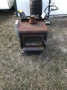 Wood stove for sale.