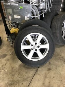 Mags and tires for Rav4 2007 up 225/65/17 nego (514)298-3301