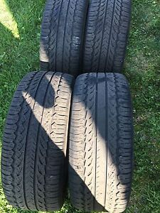"""Rims and tires 17"""" 235/45 R17 450$ nego"""
