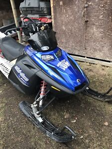 ISO Voltage blue color hood for 2007 skidoo summit 800R