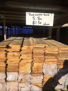 PINE LINING BOARDS 140 x 12 $1.50 per metre Campbellfield Hume Area Preview