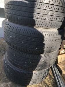 4 pneus été 225 60 17