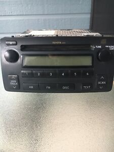 Radio CD toyota Corolla 2006