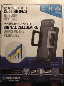Cell phone car booster