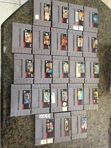 Super Nintendo Games Original no remakes.
