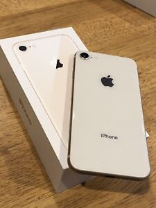 iPhone 8 64gb Rose Gold 10/10 Condition