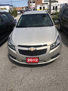2012 chevy Cruze for immediate sale DON'T MISS THIS CHANCE!